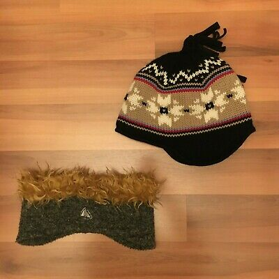 ++STEFFNER Wollmütze / Strickmütze und FIREFLY - Top Mütze Stirnband