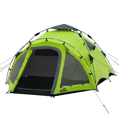 Qeedo Quick Oak 3 Campingzelt - grün