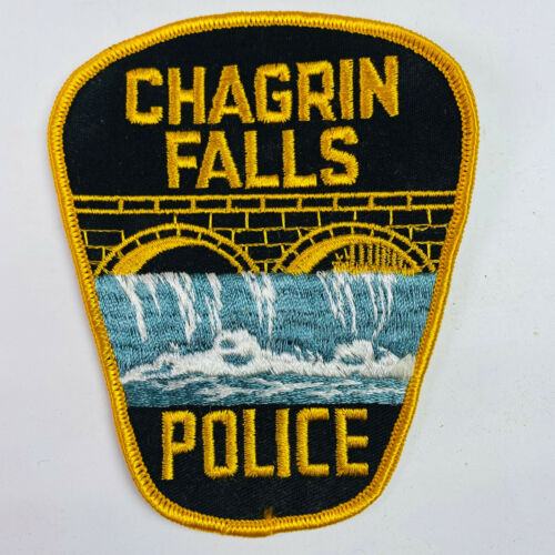 Chagrin Falls Police Ohio OH Patch (B2)
