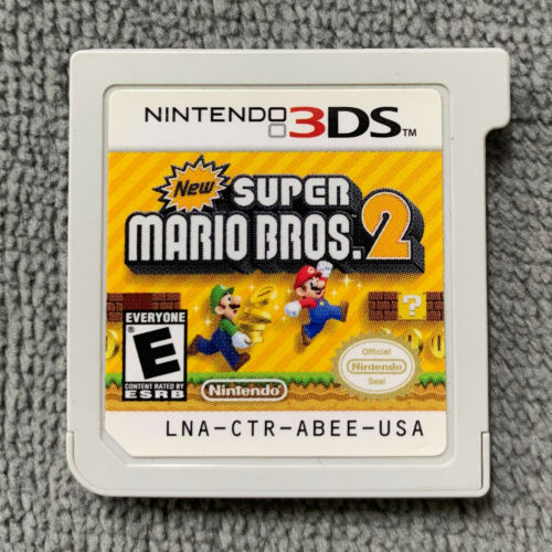 New Super Mario Bros. 2 for Nintendo 3DS, 2DS Original USA [Game Cartridge Only]