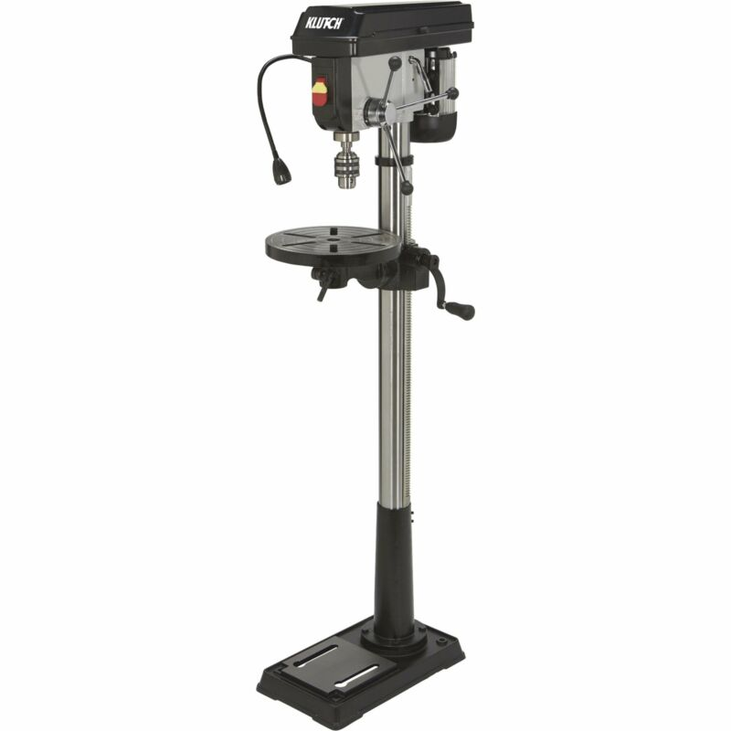 Klutch 13in. Floor Mount Drill Press - 3/4 HP, 16-Speed