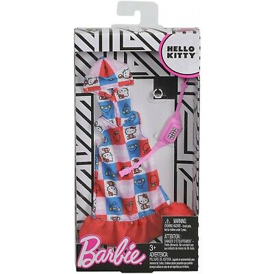 Barbie Hello Kitty Fashion 1 Outfit and Accessories New Fast Shipping ✈
