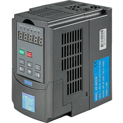 New Variable Frequency Drive Inverter Vfd 2.2kw 220v 3hp 10a Single Phase