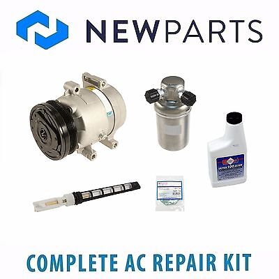 For Chevrolet C5 Corvette 5.7L Complete AC A/C Repair Kit w/ Compressor & Clutch