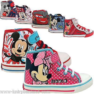 Canvas Turnschuhe Sneaker Disney Kinder Schuhe Basketballschuhe Chucks Knöchel