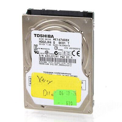 "Toshiba 2.5"" 160GB 5400RPM Internal Hard Drive MK1637GSX comprar usado  Enviando para Brazil"