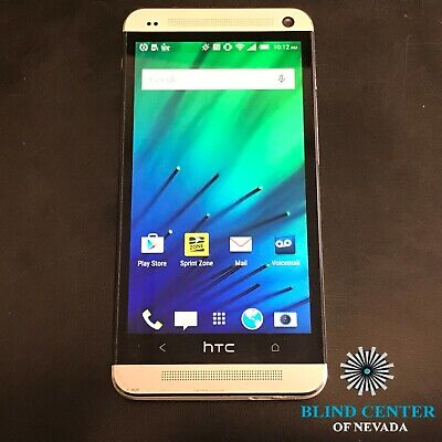 "HTC One M7 PN071 4.7"", 32GB, Gray, Sprint (CDMA + GSM)"