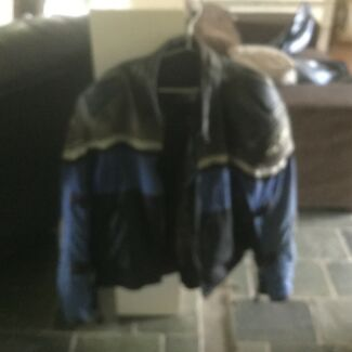 2x motorcycle jackets one 2xl one 3xl