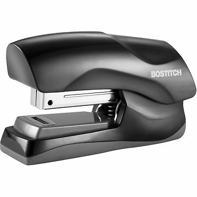 Bostitch Stapler 40-sheet Half Strip Flat Clinch Black B175blk