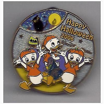 Disney Nephews - Huey Dewey Louie - 3D Spinner Happy Halloween 2006 Pin ~ LE](Happy Halloween Nephew)