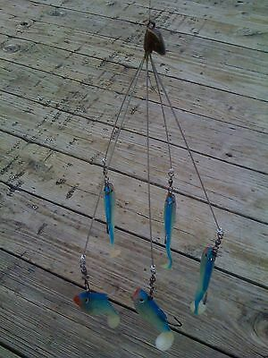 Shad School Umbrella Rig, Fishing In Florida, Tennesse, Alabama etc .040 wire