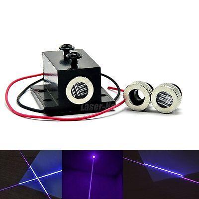 Dot Line Cross 405nm 20mw Violetblue Focusable Laser Diode Module Heatsink