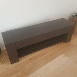 Tv unit with matching hall table