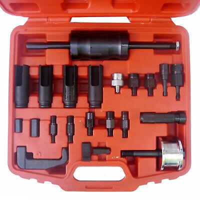 23pc Diesel Injector Puller Remover Tool Master Kit Bosch Delphi Denso Siemen