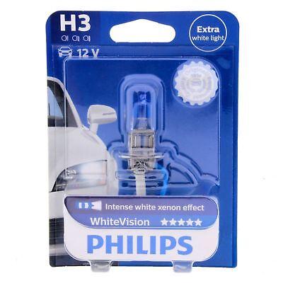 Gebraucht, H3 Philips WhiteVision Intensive Xenon Effekt 3800K 12336WHV Halogen Blister 1St gebraucht kaufen  Kaltenkirchen