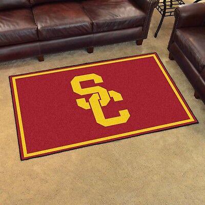 USC Trojans 4' X 6' Decorative Ultra Plush Carpet Area Rug](Usc Decorations)