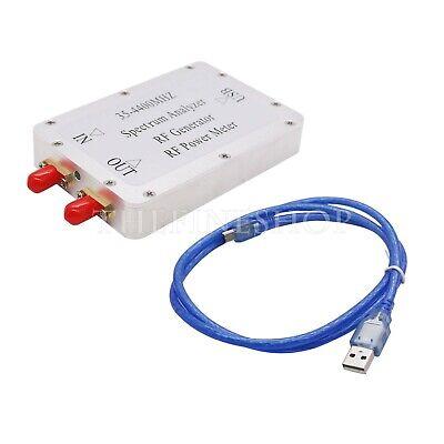 35-4400mhz Usb Simple Spectrum Analyzer Rf Signal Source Rf Power Metercable