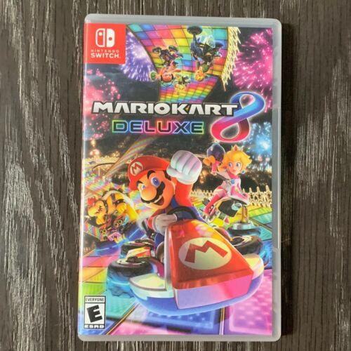 Mario Kart 8 Deluxe Nintendo Switch, 2017  - $49.00