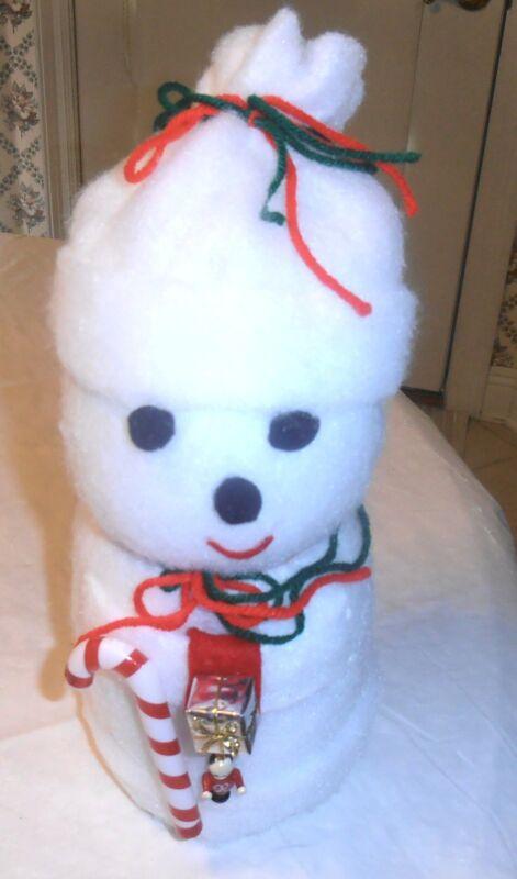 GORGEOUS HANDMADE CHRISTMAS SNOWMAN VERY CUTE