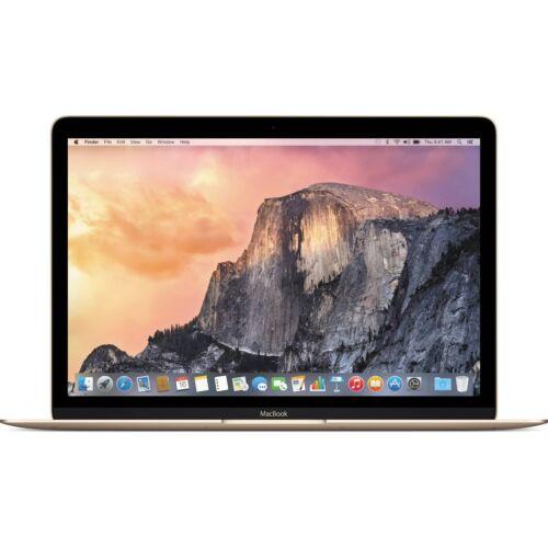 "Apple MacBook® 12"" Display Intel Core M 8GB Memory 512GB Flash Storage Gold MK4N2LL/A"