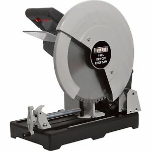 Ironton Dry Cut Metal Saw 14in., 15 Amp, 1450 RPM