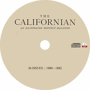 The-Californian-Complete-36-Issues-1880-1882-Western-Literary-Magazine-on-CD