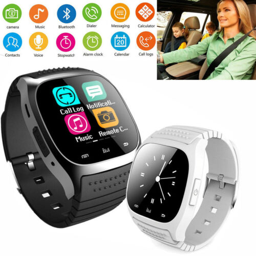 Bluetooth Smart Watch Touch Screen Sport Wrist Watch For Samaung S8 S9 HTC LG Cell Phones & Accessories