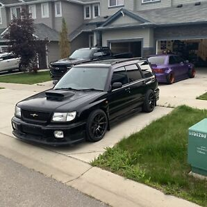 1999 Subaru Forester Type-A ST/B