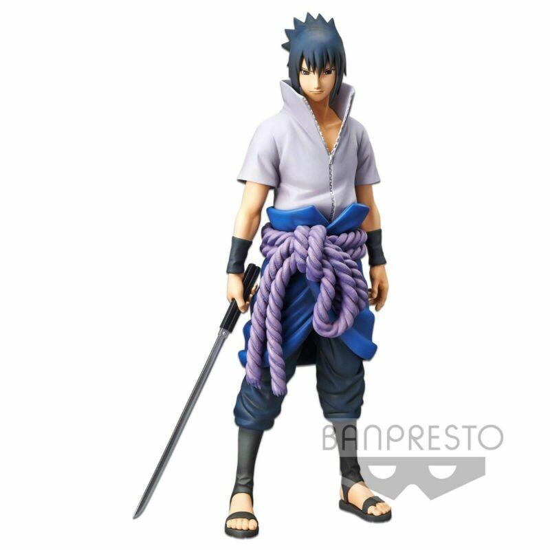 Banpresto Grandista Nero Naruto Shippuden Uchiha Sasuke Figure
