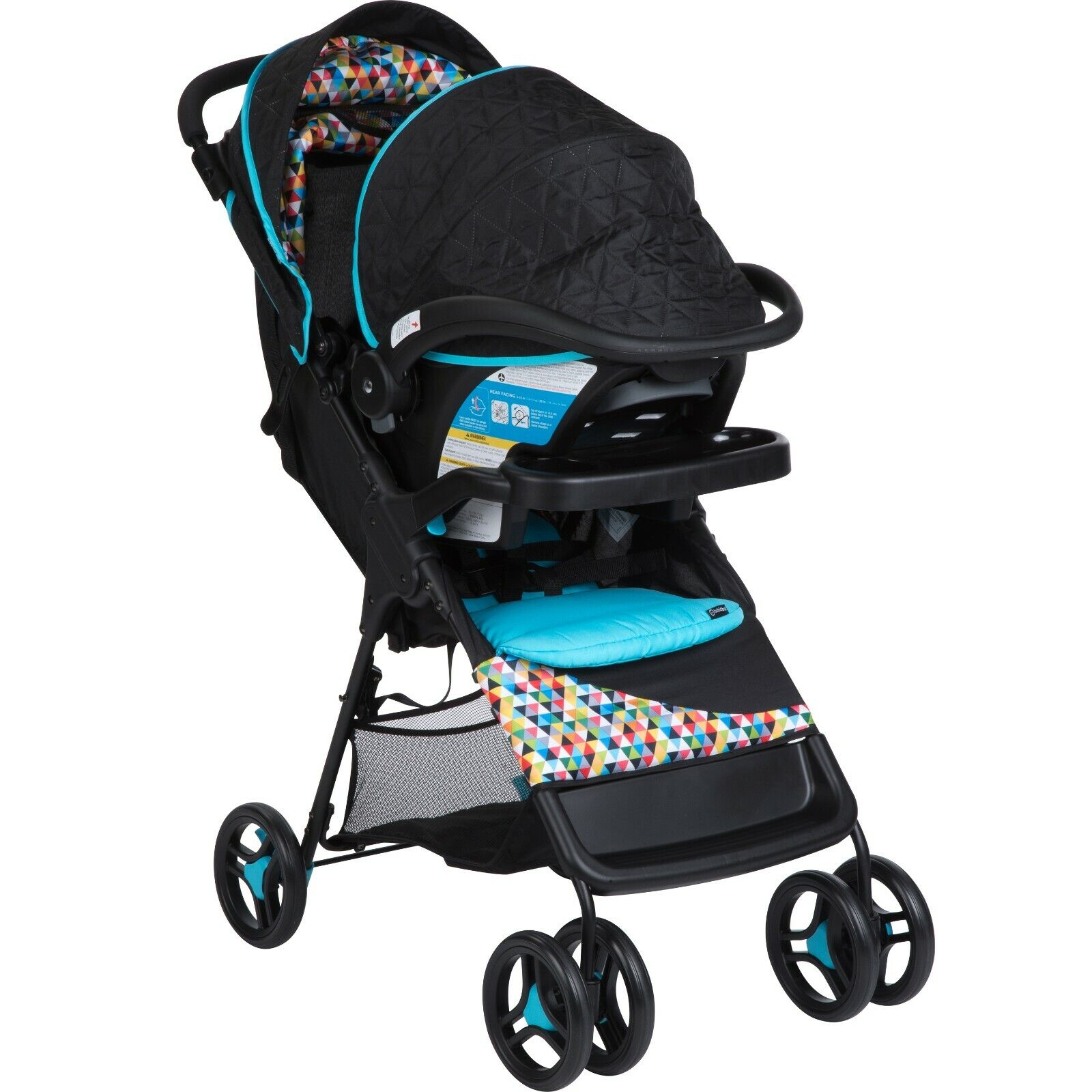 Baby Stroller With Car Seat Infant Comfort Walker Travel System Deluxe Seat Pad - $100.00