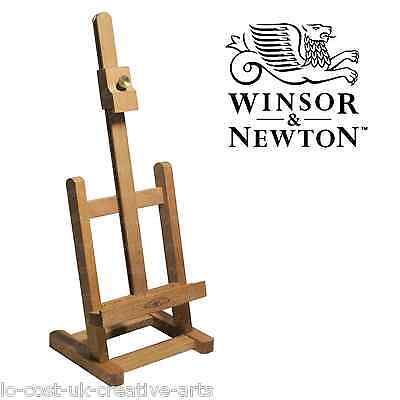 WINSOR & NEWTON ARTIST BRENT WOODEN TABLE EASEL FOR CANVAS PAINTING