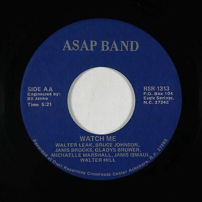 Modern Soul Funk 45 - ASAP Band - Watch Me/Giving In - mp3 - rare!