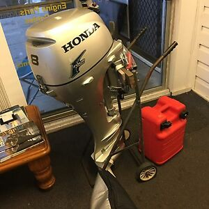 Honda outboard 8hp Marks Point Lake Macquarie Area Preview