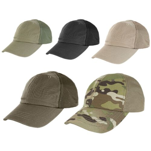 Condor TCTM Breathable Mesh Tactical Team Cap w/ Two Hook and Loop Panels