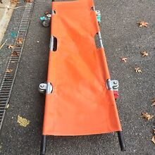 Medical Emergency Folding Portable Wheel Stretcher Mobile Box Hill South Whitehorse Area Preview