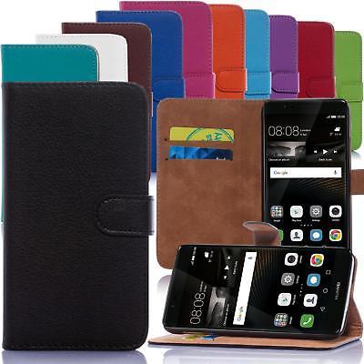 Handy Tasche für Sony und Huawei Flip Cover Mobile Case Schutz Hülle Etui Bumper