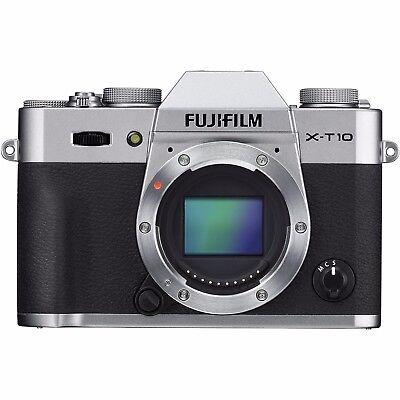 Fujifilm X-T10 16.3MP Digital Camera - Silver (Body Only)