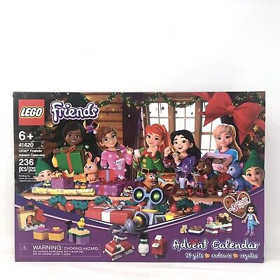 2020 LEGO Friends Advent Calendar (41420) 236 Pcs 24 Gifts for Ages 6+ NEW