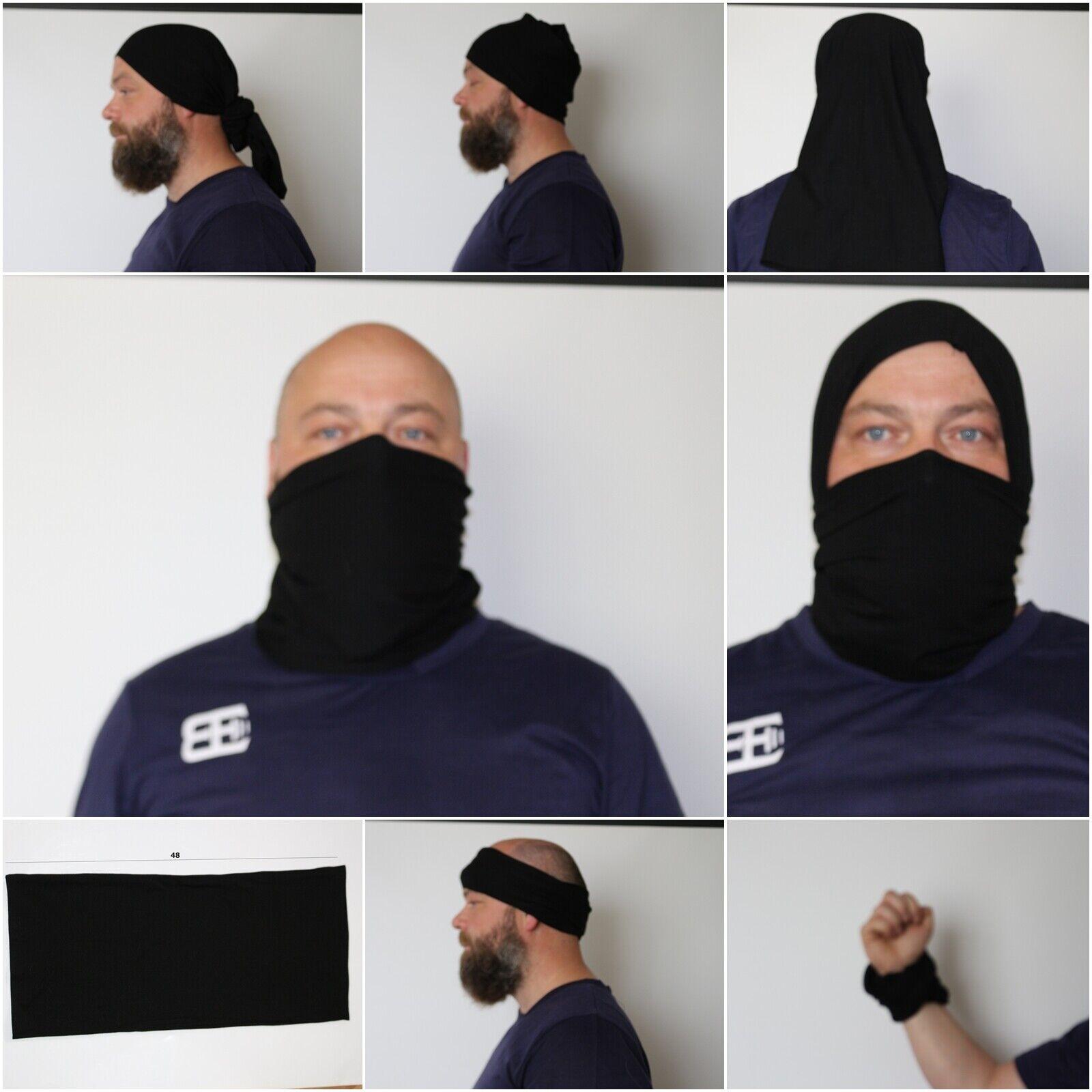 Masque, tour de cou multiusage bandana foulard visage velo moto ski