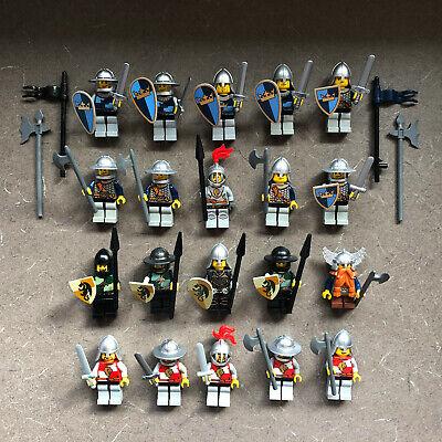 Lego Lot CASTLE KNIGHTS KINGDOM FANTASY ERA MINIFIGURES Dragon Lion Crown Shield