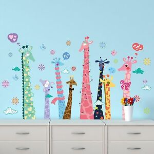 NEW 185*106CM Removable Wall Sticker Children Kids Decal Giraffe Wembley Cambridge Area Preview