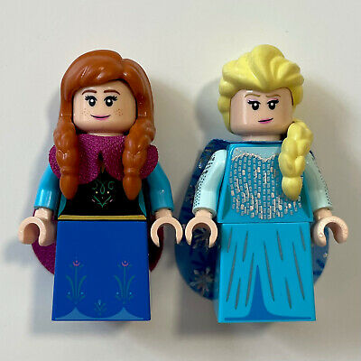 LEGO Disney Official Frozen Minifigure Lot Of 2