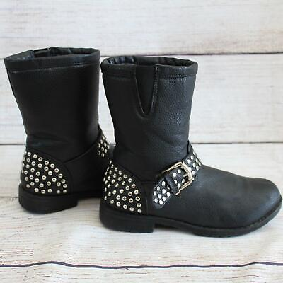 CA Collection by Carrini Studded Moto Boots Size 6/6.5 for sale  Naples