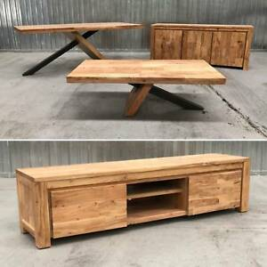 - SOLID ACACIA COFFEE TABLE - NEW - Richmond Yarra Area Preview