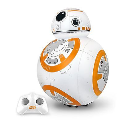 Remote Control Inflatable Blow Up Electronic Toy Fun BB-8 Droid Star Wars SW ...
