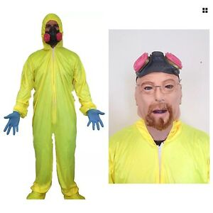 Bad-CHIMICO-GIALLO-MATERIALI-TOSSICI-ABITO-COSTUME-WALTER-Meth-Cook-abito