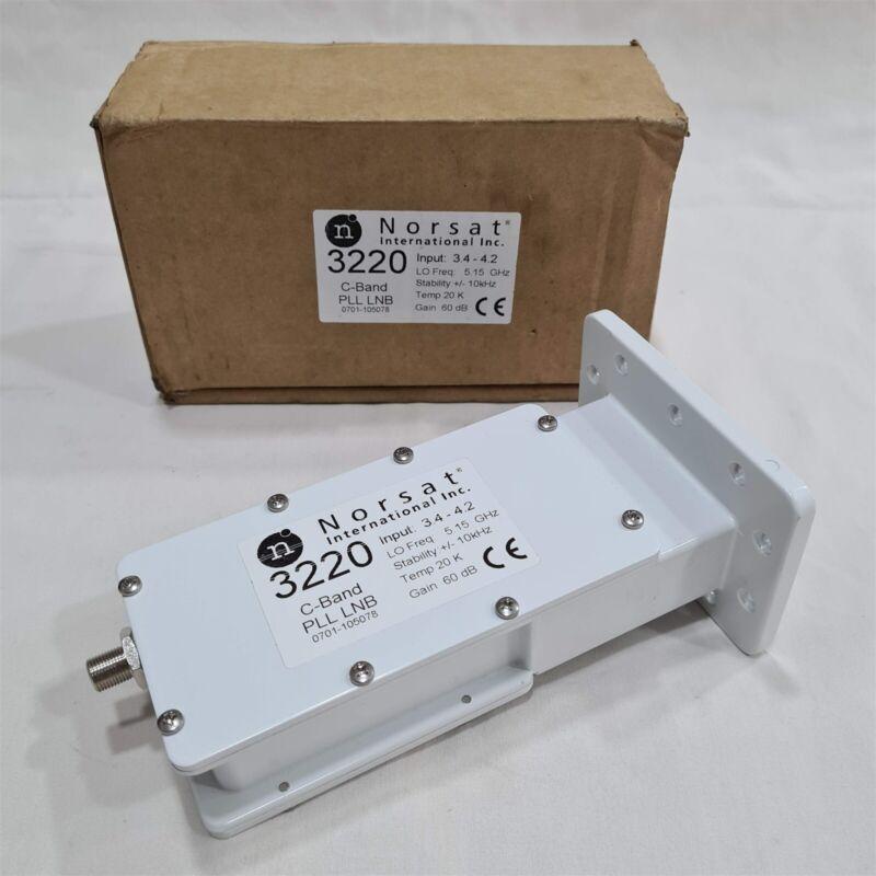 Brand New Norsat 3220 C-Band PLL LNB. 20K. Gain 60 dB. Made in Japan