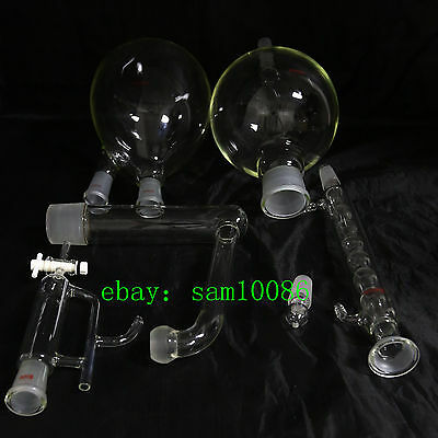 Essential Oil Steam Distillation Kitallihn Condenserall Glasswarenew Labchem