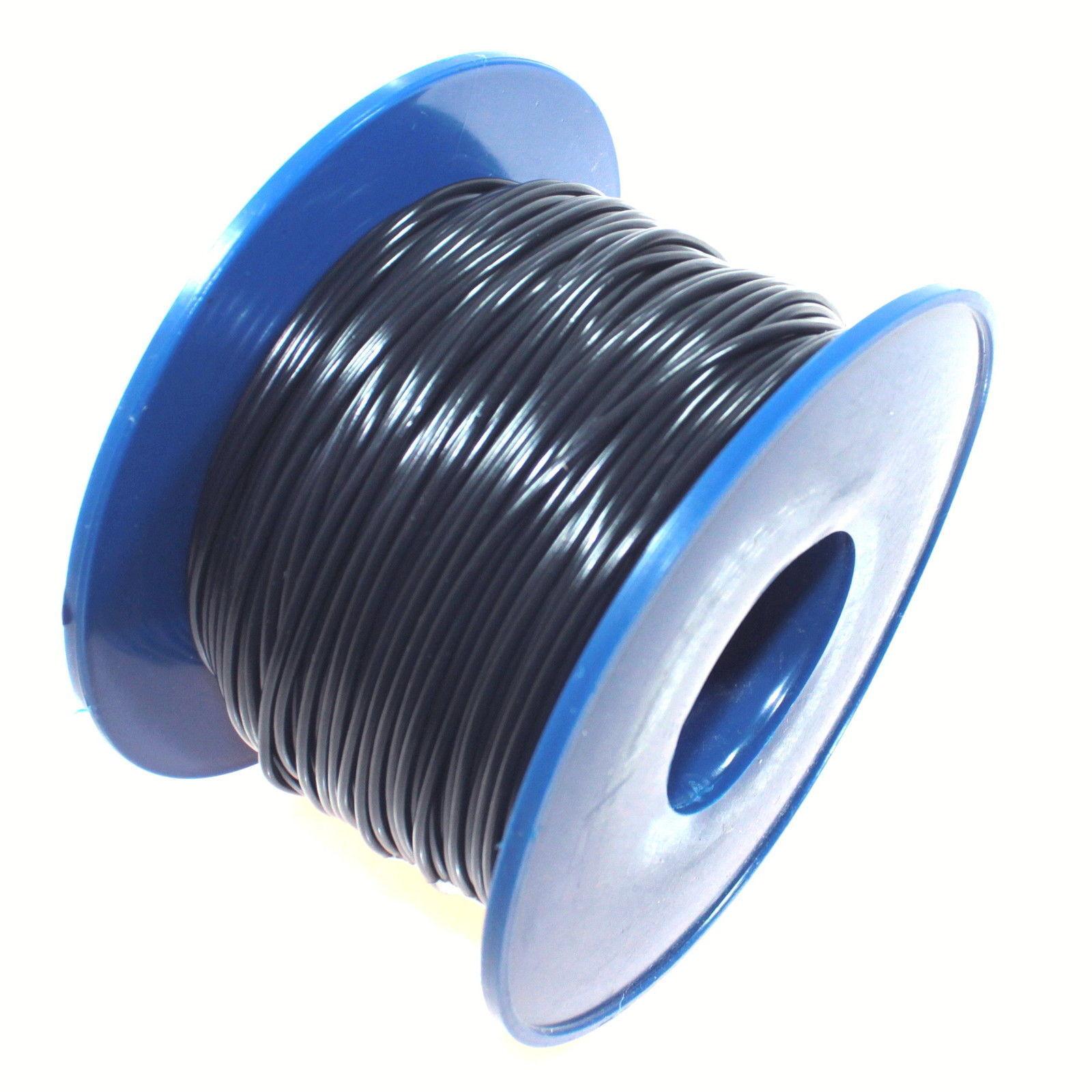 KFZ Kabel Leitung FLRy 1,0mm² 100m schwarz Fahrzeug Auto LKW Stromkabel FLy