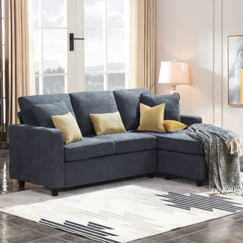 Modular Sectional Sofa for Small Space Multifunctional Sofa Couches with Chaise